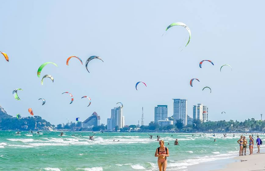 hua hin kitesurfing