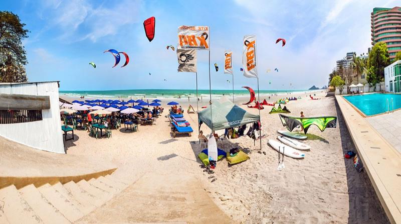 kitesurfing holidays hua hin